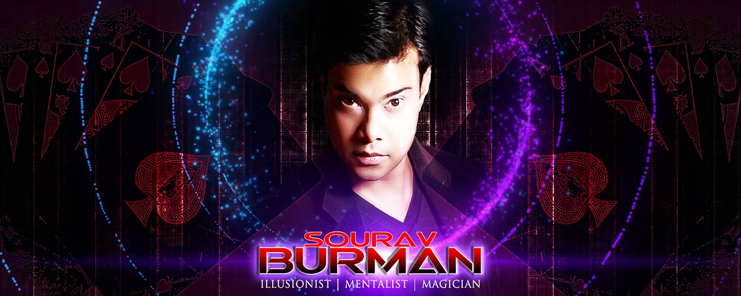 Illusionist Mentalist Magician in India, Sourav Burman